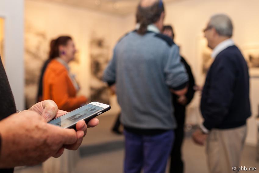 Galerie Le Sphinx : Vernissage de l'exposition de Paule Riché  - Photo © phb.me
