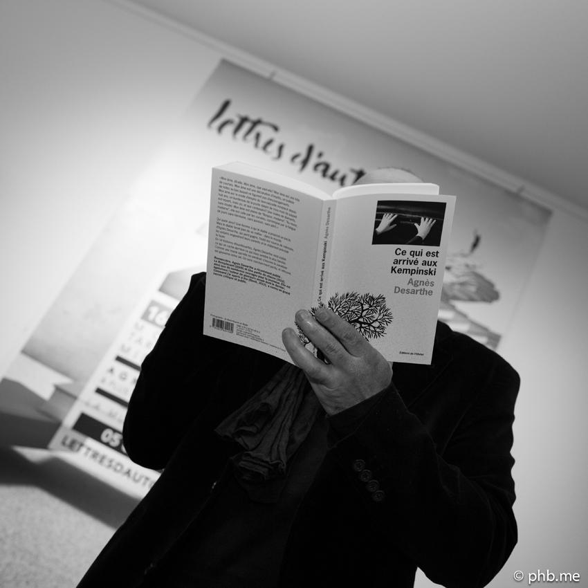 Festival Lettres d'Automne : Lecture par Nonoko - Photo © phb.me